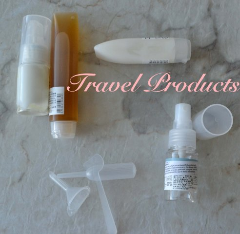 Muji Travel Products